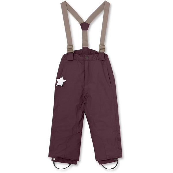Miniature Snow Pants Witte Snow Pants - Winetasting Plum