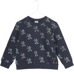 Miniature Sweaters 2y Jian Sweatshirt - Blue Nights