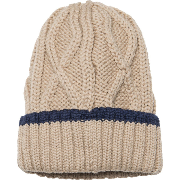 Miniature Tuque Boje Hood - Doeskind Sand