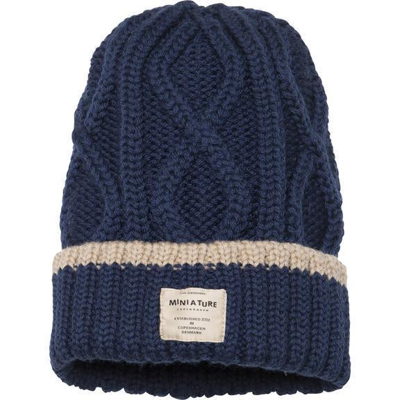 Miniature Tuque Boje Hood - Peacoat Blue