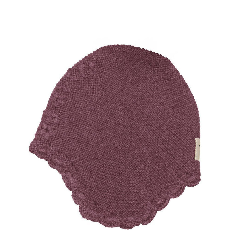 Miniature Tuque Filucka Hood - Cherry