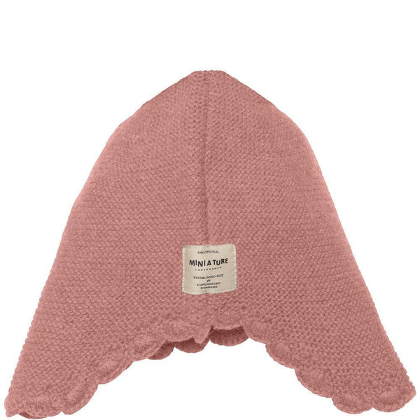 Miniature Tuque Filucka Hood - Rose Smoke