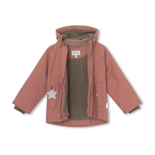 Miniature Winter Coat Wally Winter Jacket - Withered Rose