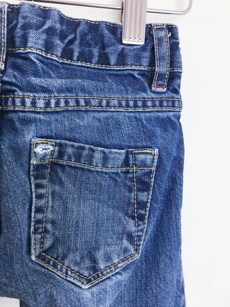 Monoprix Bottoms 3T / Gently Used Re-Cycle Stone Washed Jeans