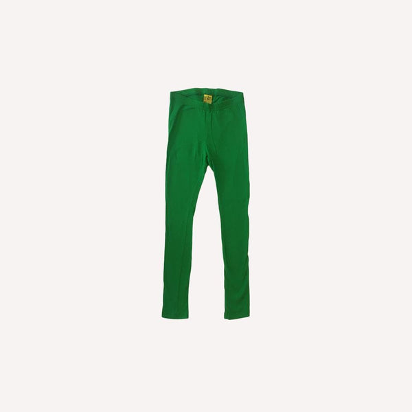 More than a Fling Leggings 6-8y / Like New Re-Cycle Solid Green Leggings