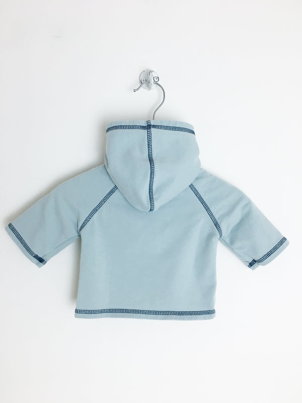 Mouton Noir Sweaters NB / Gently Used Re-Cycle Sea Green Baby Hoodie