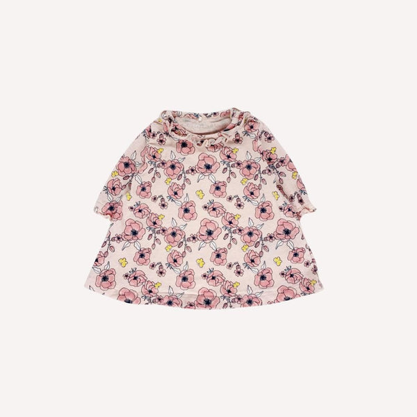 Name It Dress 1-2m / Like New Re-Cycle Floral Pink Dress