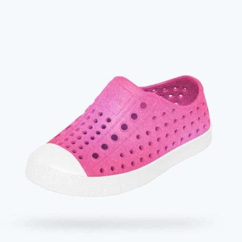 Native Shoes C9 Jefferson Iridescent Child Hollywood Pink (Rescues)