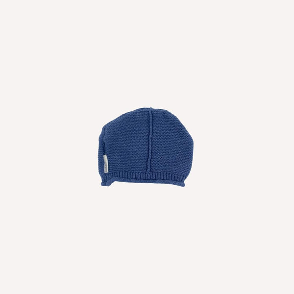 Noppies Beanie NB / Preloved Re-Cycle Solid Blue Beanie