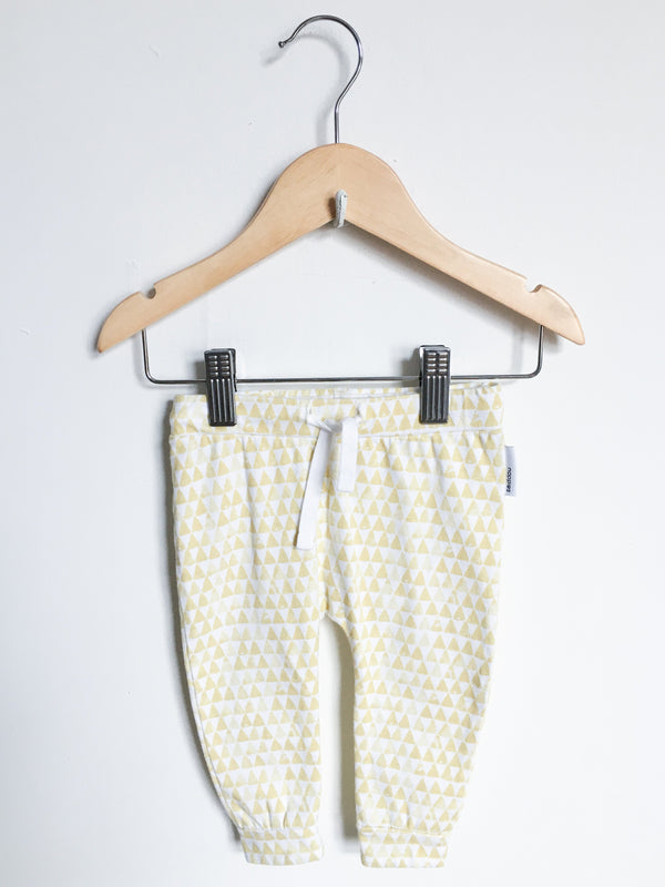 Noppies Bottoms 2-4m / Gently Used Re-Cycle Triangle Pattern Pants