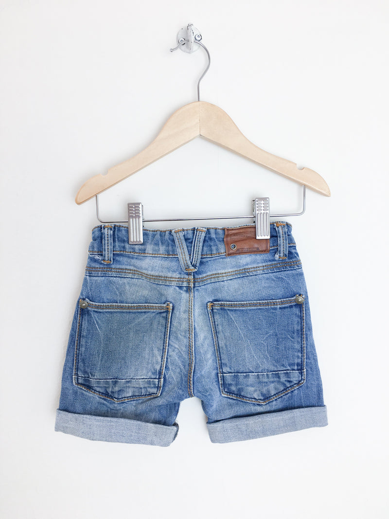 Noppies Shorts 2T / Gently Used Re-Cycle Rolled Cuff Jean Shorts