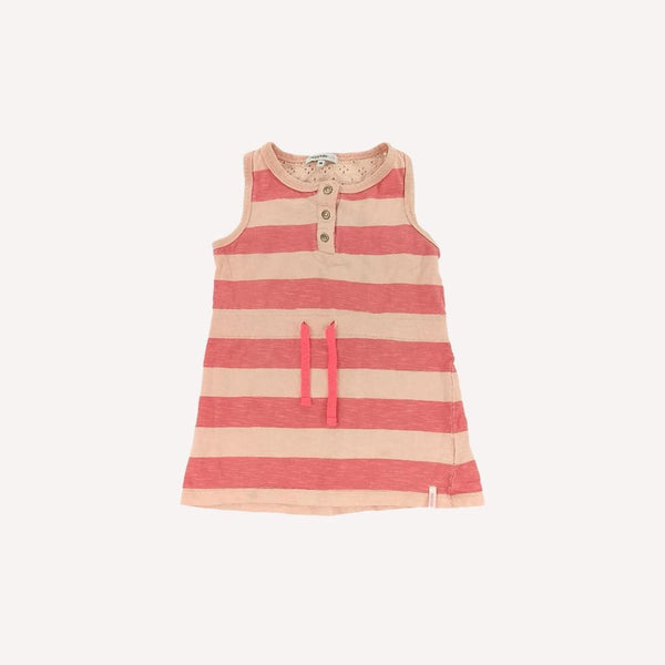 Noppies Tunic 3y / Preloved Re-Cycle Striped Pink Tunic