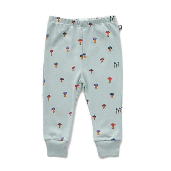 Oeuf Leggings Baby Leggings - Mushroom - Sky Grey