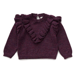 Oeuf Sweater Frou Frou Sweater - Mauve