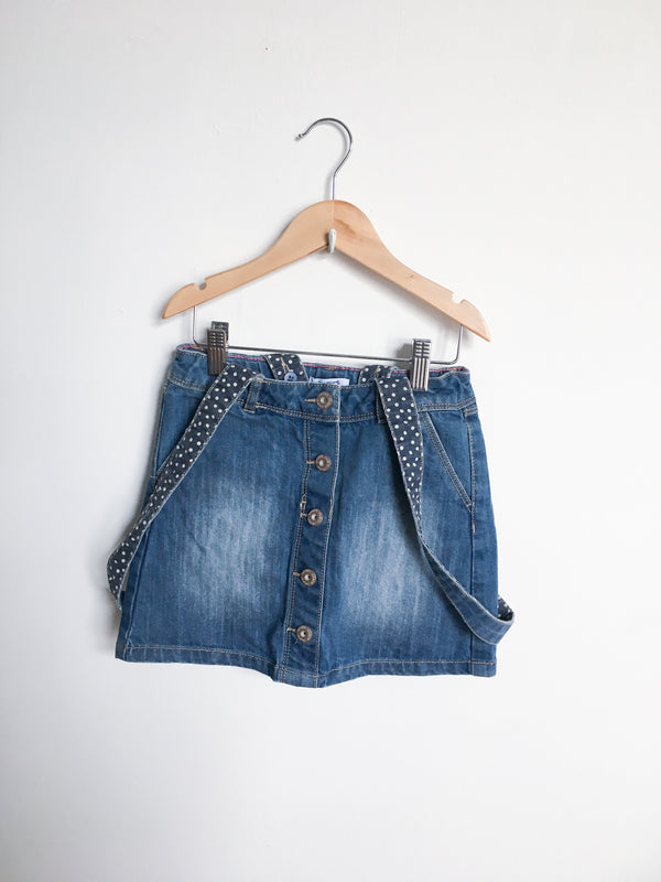 Okaïdi Dresses + Skirts 8y / Gently Used Re-Cycle Denim Skirt