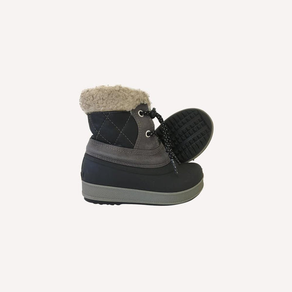 Olang Boots EUR 23-24 / Preloved Re-Cycle Sherpa Trim Boots - Grey