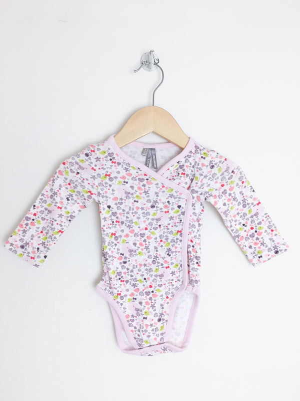 Orchestra 3m / Gently Used Re-Cycle Bird Pattern Baby Bodysuit