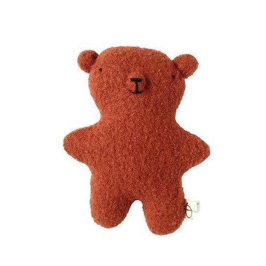 Ouistitine Toys Little Wool Bear - Brick