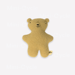Ouistitine Toys One Size Little Wool Bear - Butter