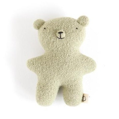 Ouistitine Toys One Size Little Wool Bear - Sweet Green
