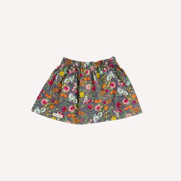 Owen&Abi Skirt 3-4T / Preloved Re-Cycle Floral Multi Colored Skirt