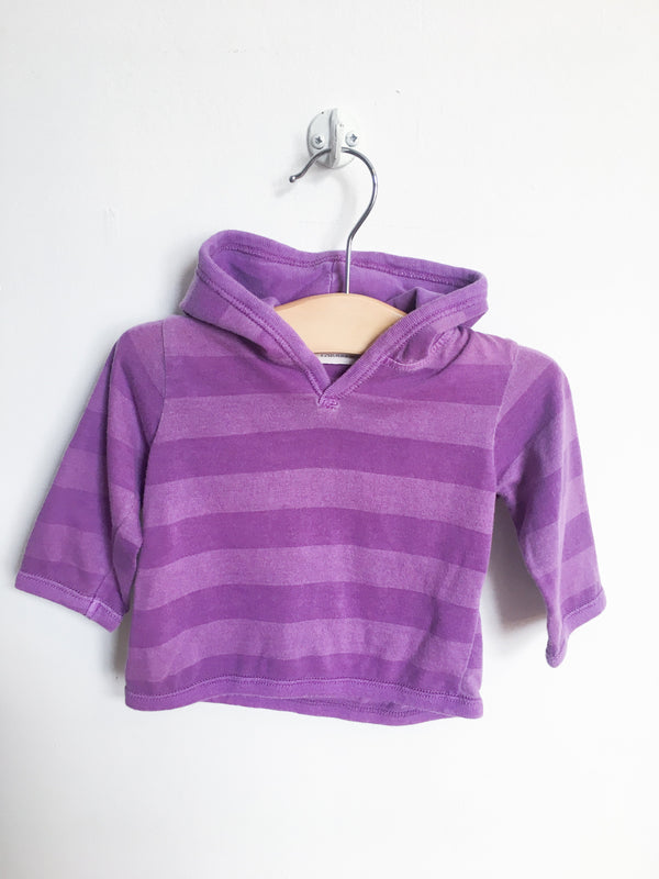 Paige Lauren Bottoms 3-6m / Gently Used Re-Cycle Purple Striped Hoodie