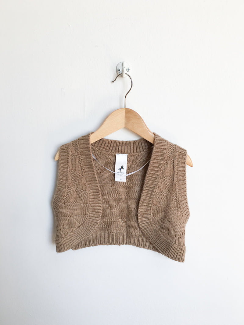 Palomino Sweaters 3y / Gently Used Re-Cycle Brown Knitted Vest