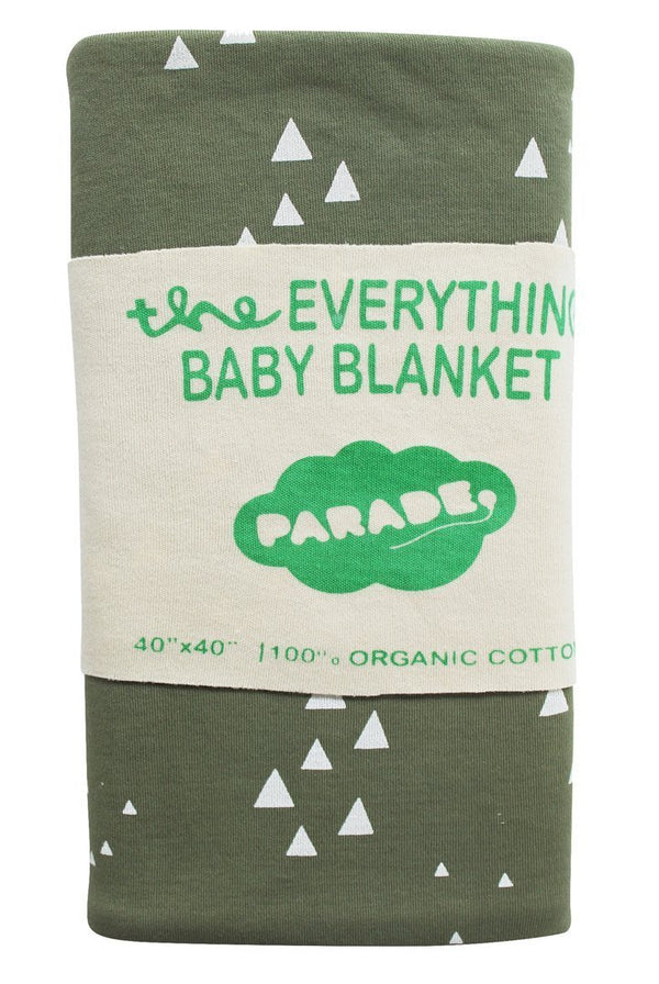 Parade Organics Blanket Everything Baby Blanket - Olive Mountains