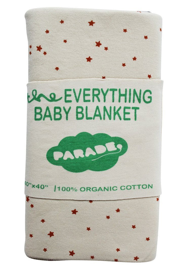 Parade Organics Blanket Everything Baby Blanket - Pumpkin Stars
