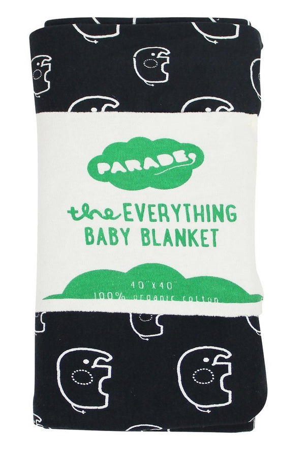 Parade Organics Blanket One Size Everything Baby Blanket - Elephants