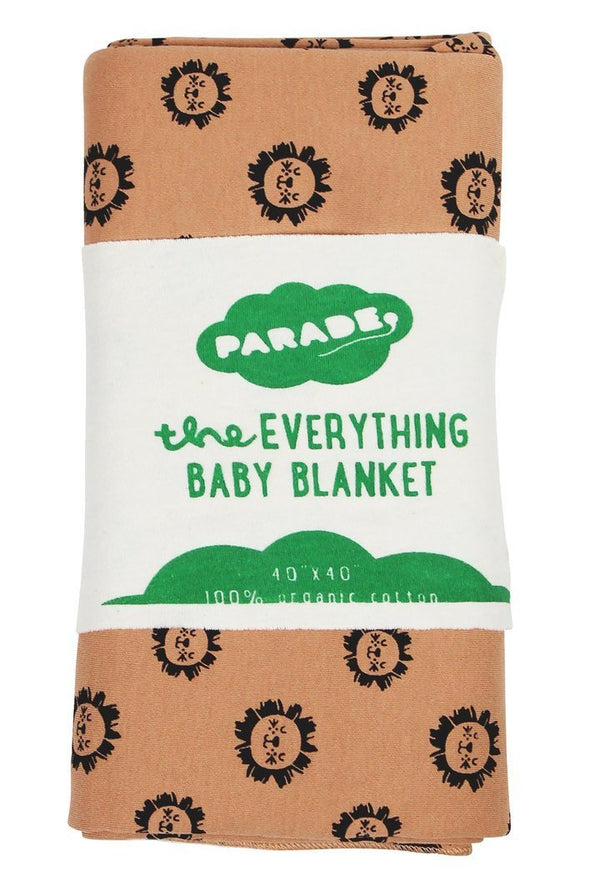 Parade Organics Blanket One Size Everything Baby Blanket - Lions