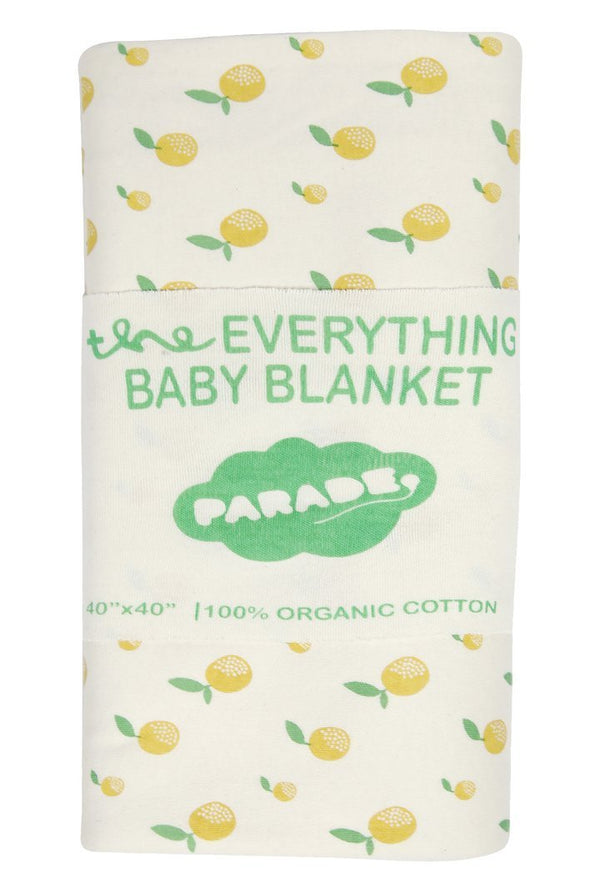 Parade Organics Blankets Everything Baby Blanket - Citrus