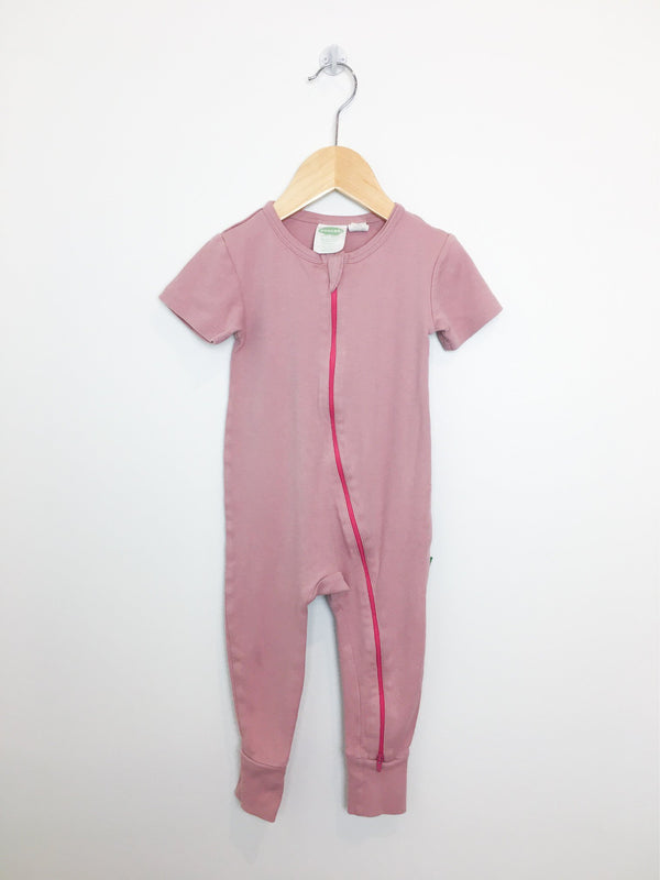 Parade Organics One-Piece 18-24m / Preloved Re-Cycle Pink 2-Way Zip Romper