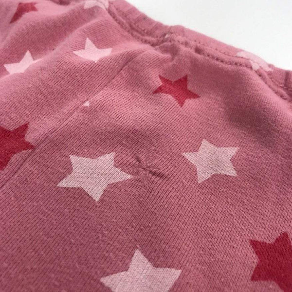 Petit Bateau 2 Piece 4y / Preloved Re-Cycle Patterned Pink 2 Piece Lounge Set