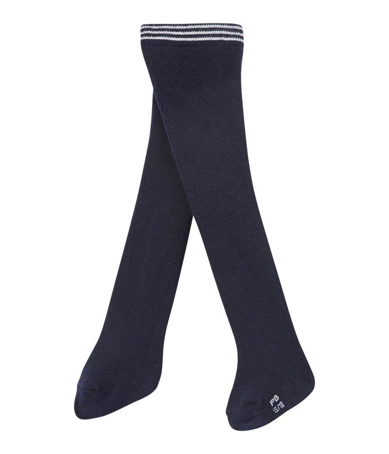 Petit Bateau Accessories 0-3m Abysse Blue Jersey Tights