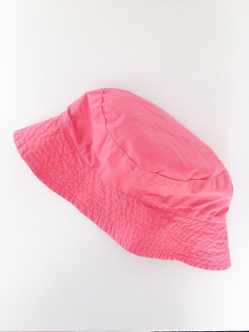 Petit Bateau Accessories 12m / Gently Used Re-Cycle Pink Sunhat