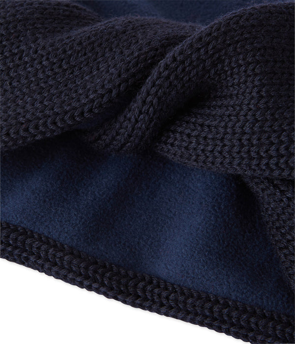 Petit Bateau Accessories One-Size / Smoking Blue Child Lined Knit Snood Smoking Blue