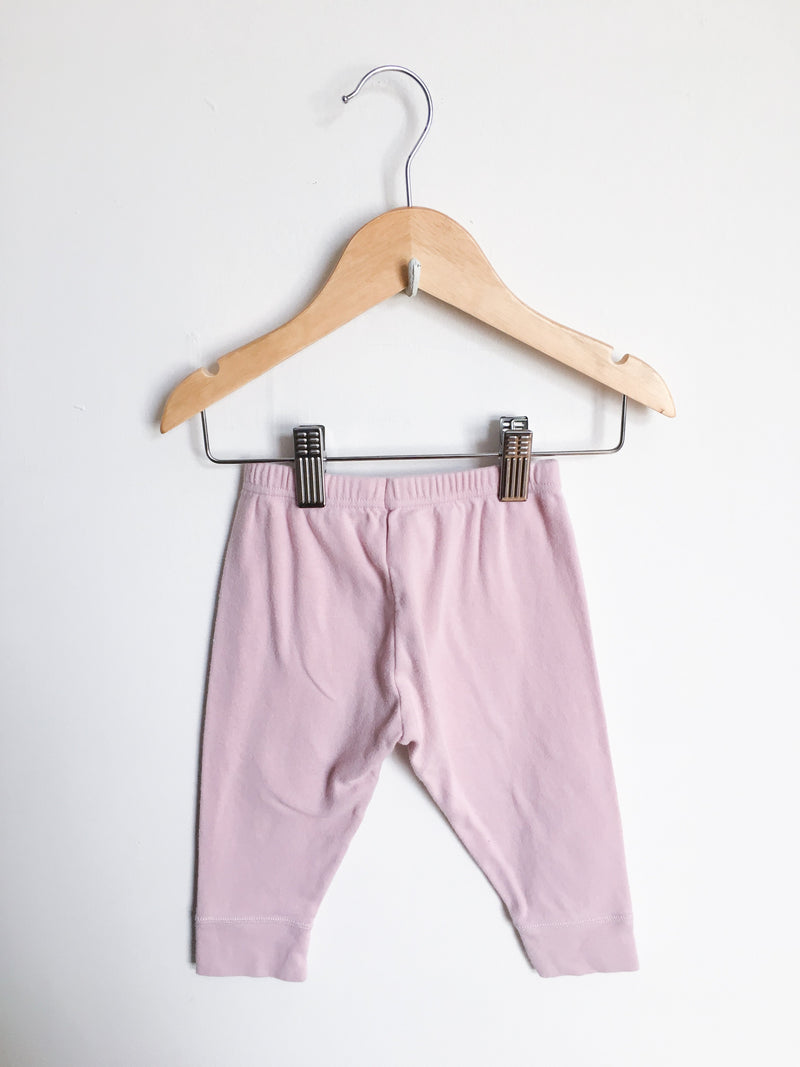 Petit Bateau Bottoms 18m / Gently Used Re-Cycle Pink Leggings