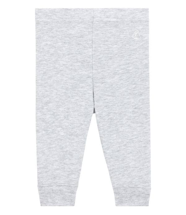 Petit Bateau Bottoms 1m Baby Leggings - Grey