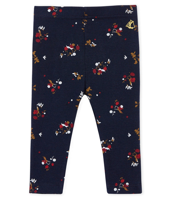 Petit Bateau Bottoms 3m Baby Back Ruffle Flowery Leggings