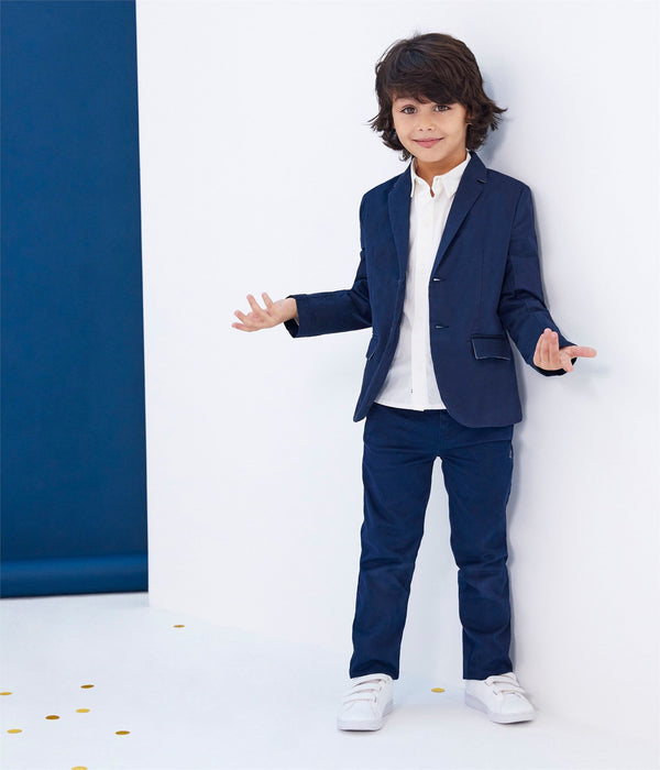 Petit Bateau Bottoms 4y Dark Blue Trousers