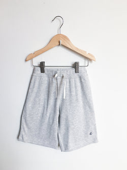 Petit Bateau Bottoms 8y / New with Tag Re-Cycle Grey Bermuda Shorts
