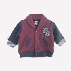 Re-Cycle Maroon Sports Cardigan