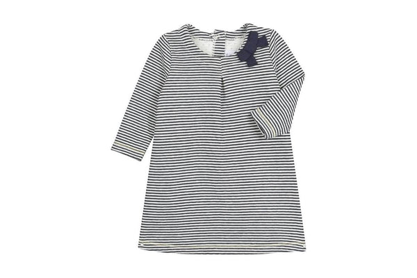 Petit Bateau Dresses + Skirts 3m Baby A-Line Shape Cotton Dress - 3m