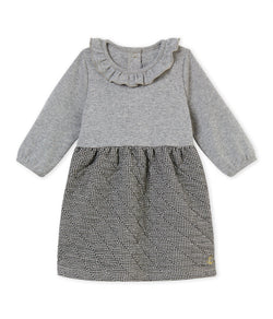 Petit Bateau Dresses + Skirts 3m Baby Dual Fabric Dress