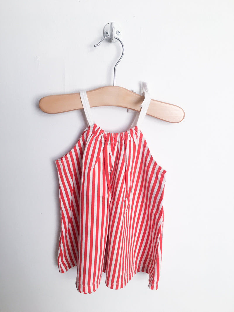 Petit Bateau Dresses + Skirts 6m / Gently Used Re-Cycle Red and White Stripe Dress