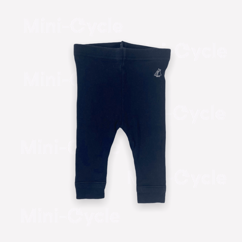 Petit Bateau Leggings 1m / Preloved Re-Cycle Navy Blue Leggings