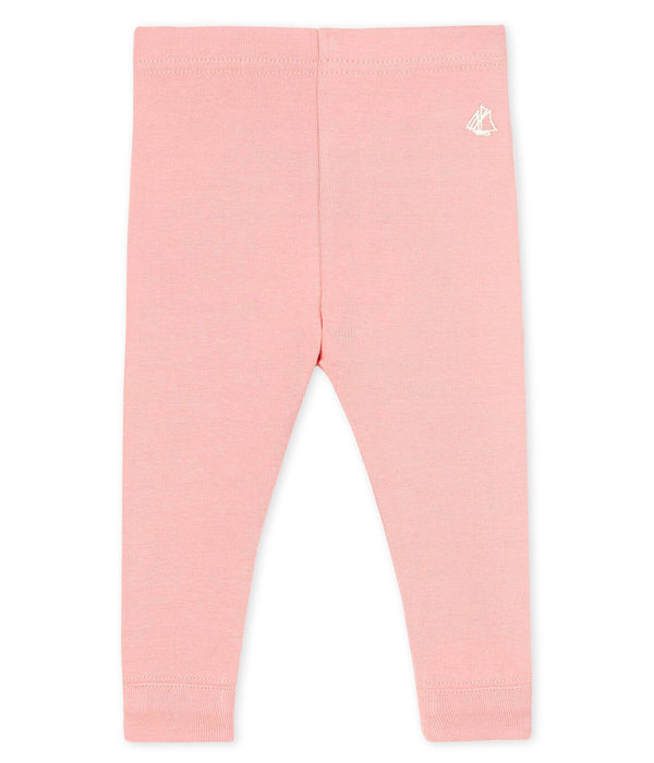 Petit Bateau Leggings Baby Girl Pink Leggings