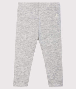 Petit Bateau Leggings Baby Leggings - Montelimar Chine Grey