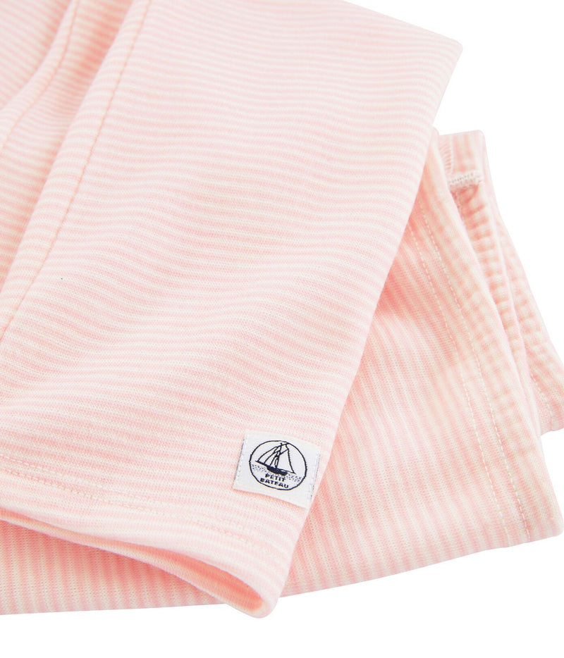 Petit Bateau Leggings Leggings in Wool and Cotton - Pink